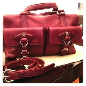 Red Cole Haan handbag