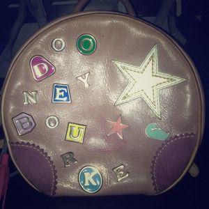 Purple Dooney & Bourke backpack