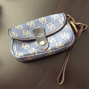 Dooney & Bourke Clutches & Wallets - Authentic Dooney & Bourke flap wristlet