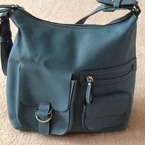Relic muted blue handbag