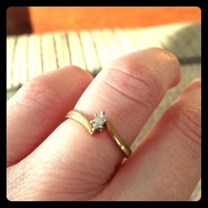 """Accessories - ♦️SoLD♦️! Diamond """"Promise"""" Ring 💍💋"""