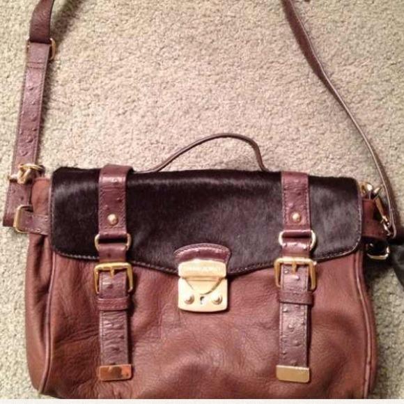 Cynthia Rowley Brown Leather Bag