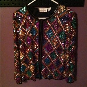 Jackets & Blazers - Sequined blazer