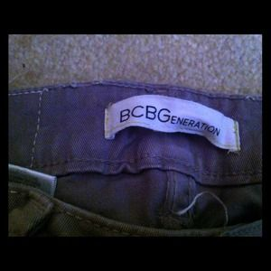 SALE!! BCBG Generation Gray and Cream faded jeans!