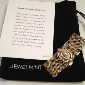 JewelMint Bombay Paris Bracelet mesh band