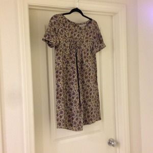 Zara Flower Printed Dress