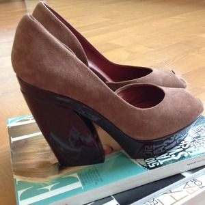 Luxury Rebel Shoes - Luxury Rebel Bardot - Dusty Rose