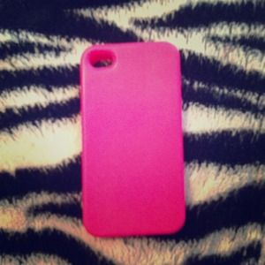Brand new iPhone 4/4s gel pink case