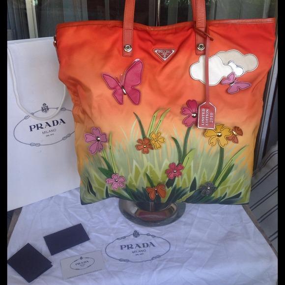 48% off Prada Handbags - Beautiful Shanghai Special Edition Prada ...