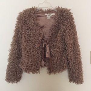 Max studio fuzzy coat