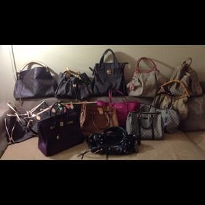 Not For Sale..Just sharing my bag collection... 