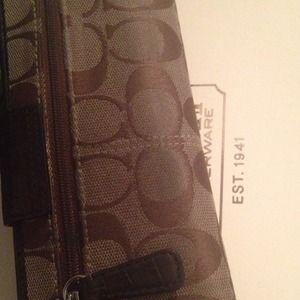 Coach Bags - Coach Legacy Signature Slim Envelope Wallet