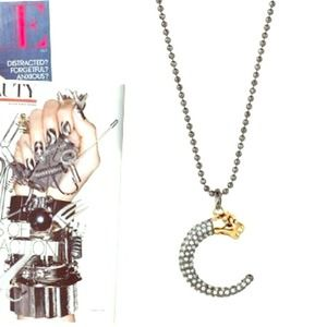 Stella and dot panther necklace!