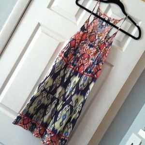 Ikat print summer dress!