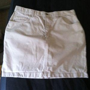 Calvin Klein khaki skirt