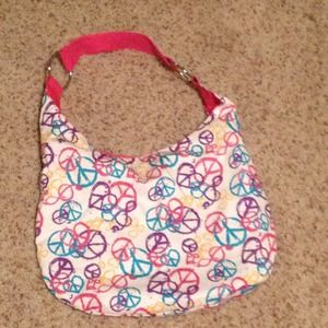 $5 on PP!! Heart, peace purse