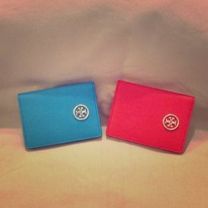 Authentic Tory Burch Card Case