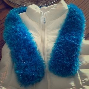 Old navy Vest and scarf