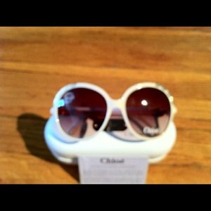 Chloe CL-2222 sunglasses in beige.  NEW
