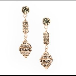 "NEW ""MOVIE MAIDEN"" Crystal Earrings"