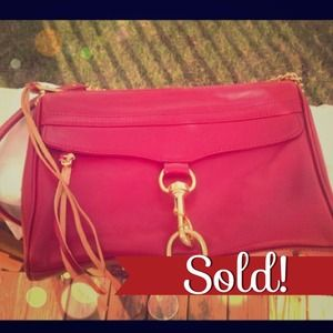 ❌SOLD❌ Rebecca Minkoff Cardinal Red MAC