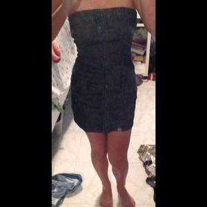 Dresses & Skirts - Guess jean dress