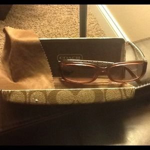 Authentic Coach Sunglasses - Pink Frames!