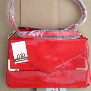 Red Envelope bag--Crossbody