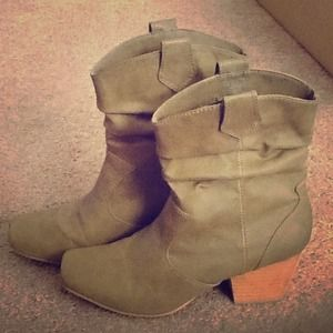 Rampage light colored boots