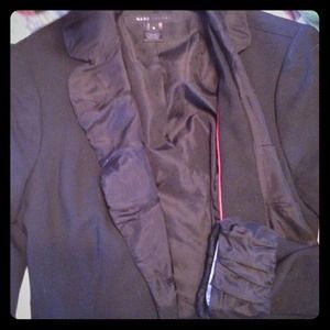 Marc Jacobs black and silk blazer