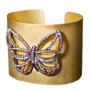 Devi Rao Jewelry - SS 18KT Gold Dipped Cuff Bracelet