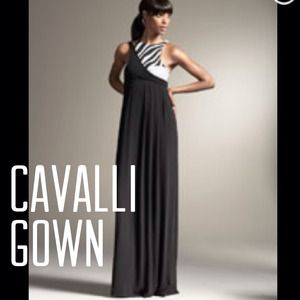 Roberto Cavalli Dresses & Skirts - High fashion Cavalli gown