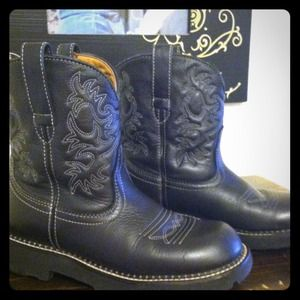 Black Ariat Fatbaby Boots - Boot 2017