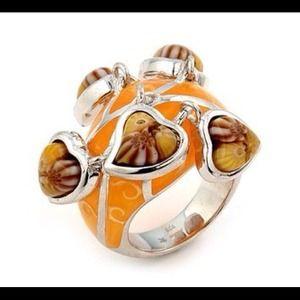 Alan K Jewelry - Murano Glass silver 925 ring by Alan K 2MR243