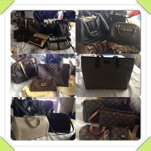 ❤Just sharing my Louis Vuitton & Gucci Handbags❤