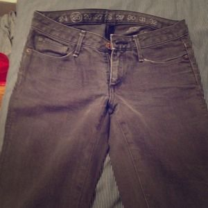 earnest sewn Denim - Earnest Sewn gray jeans straight leg size 25