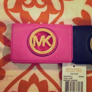 SOLD!!!✋💞💞Authentic Michael Kors Card Case NWT