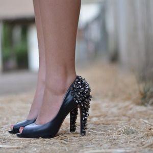 Black Stud Sam Edelman Lorrissa Lorissa Leather