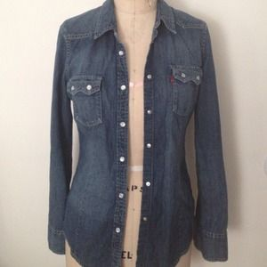 Levi's lightweight jean jacket