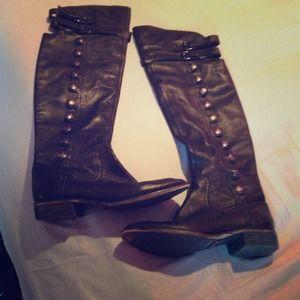 "Sam Edelman ""pierce"" knee high boots"