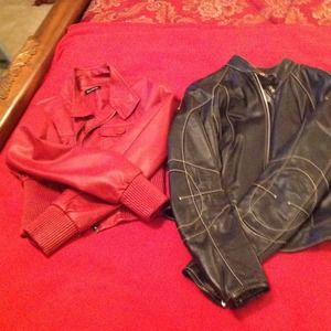 Red Jacket (sz S) Black Jacket (sz S)