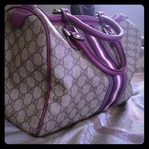 % AUTHENTIC Large Gucci Boston Bag