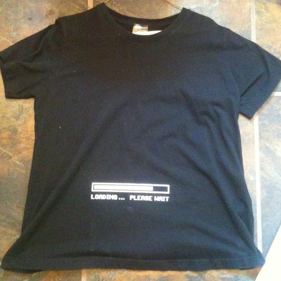 0d9dd23cab0b7 ThinkGeek Tops | Loading Maternity Shirt | Poshmark