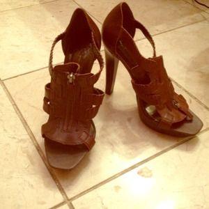 5b6e775d977 Jessica Simpson Shoes - Jessica Simpson  Striker  gladiator heel NeverWorn