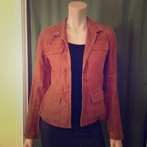Kenneth Cole Jackets & Blazers - Burnt orange linen blazer