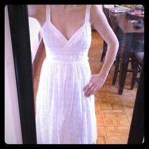 Gorgeous white eyelet Max Studio by BCBG dress