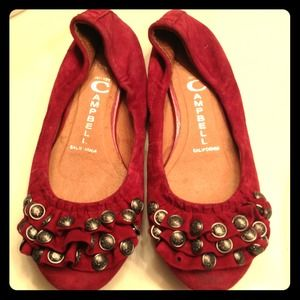 Jeffrey Campbell red flats