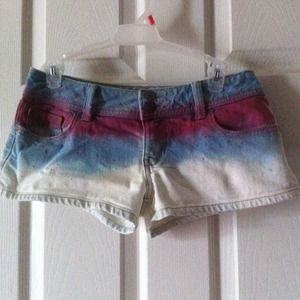 Denim shorts great with your bathing suit