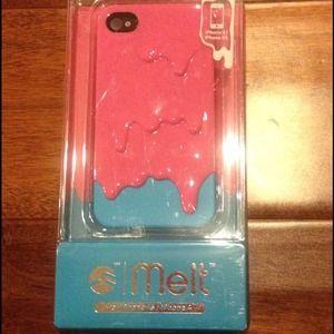 Melt iPhone 4S case