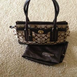 Authentic Coach handbag reduced price